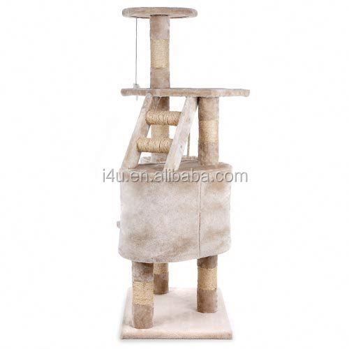Pet Deluxe Cat Tree Beige