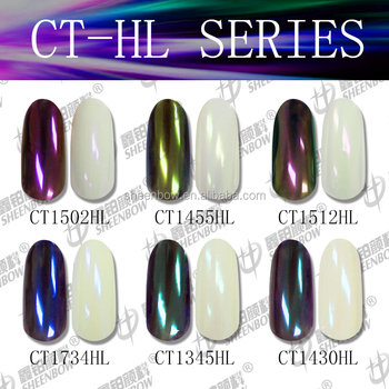 Rainbow Iridescent Ceramic Pigments , Chrome Powder