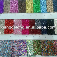 glitter leather fabric, special glitter materials for headbands