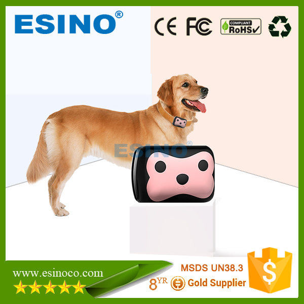 2016 Pet Security mini gsm smalles gps cat tracker animal tracker