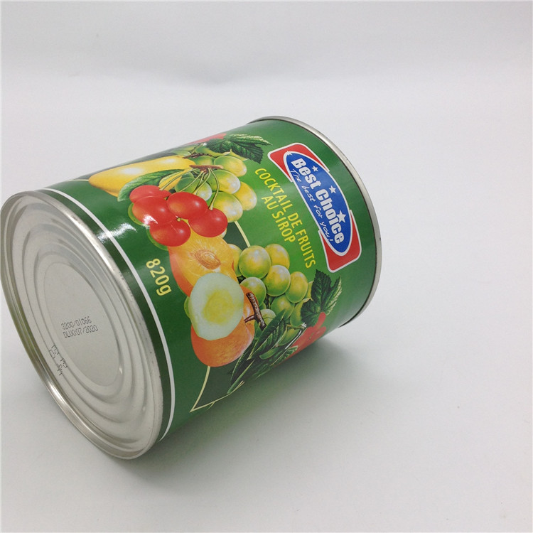 High quality canned Tropical Fruit Cocktail in light syrup