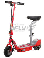 New Hot Selling CE Approved 180W Portable Folding Electric Scooter with Disc Brakes