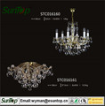 2016 european chandelier top crystal with Energy Saving