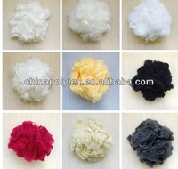polyester staple fiber recycled china manufacture colored WITH CHEAP PRICE AND GOOD QUALITY