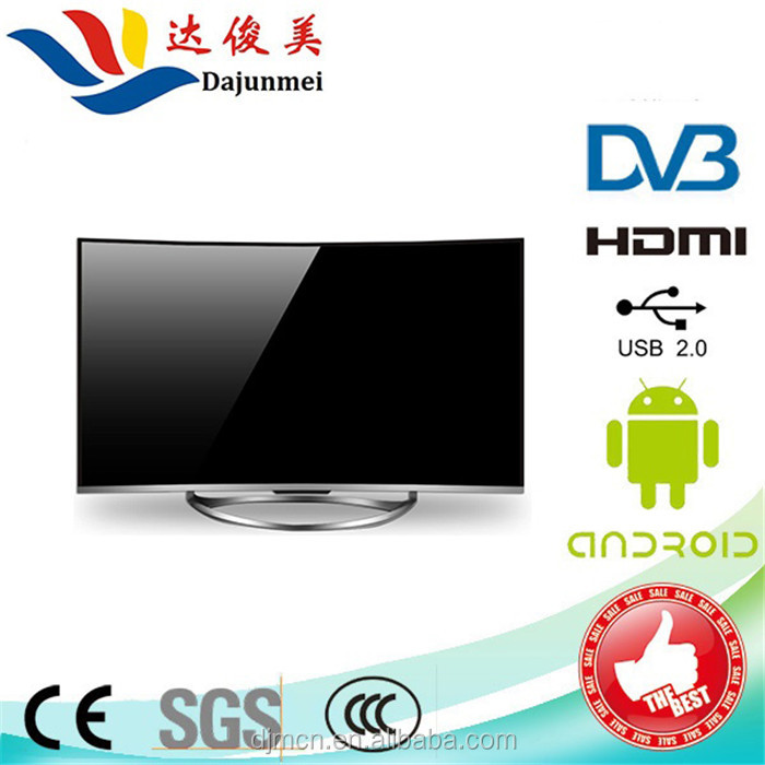 Best Selling 55 65 inch full 4K Curved LED TV Hot Sale Cheap Televisions 4K 3D LED TV