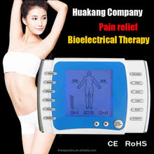 HUANGKANG New 2017 machine digital tens unit biofeedback nerve and muscle stimulator