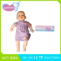 2015 New !Own design High Quality PVC Sleeping Newborn Baby Doll