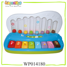with English and Spanish song musical toy piano play with fun plastic kids pianos for sale