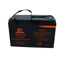 lead carbon ups battery 12v 100ah solar sealed lead acid agm deep cycle battery