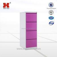 Cheap steel office furniture 4 drawer Vertical steel file cabinet