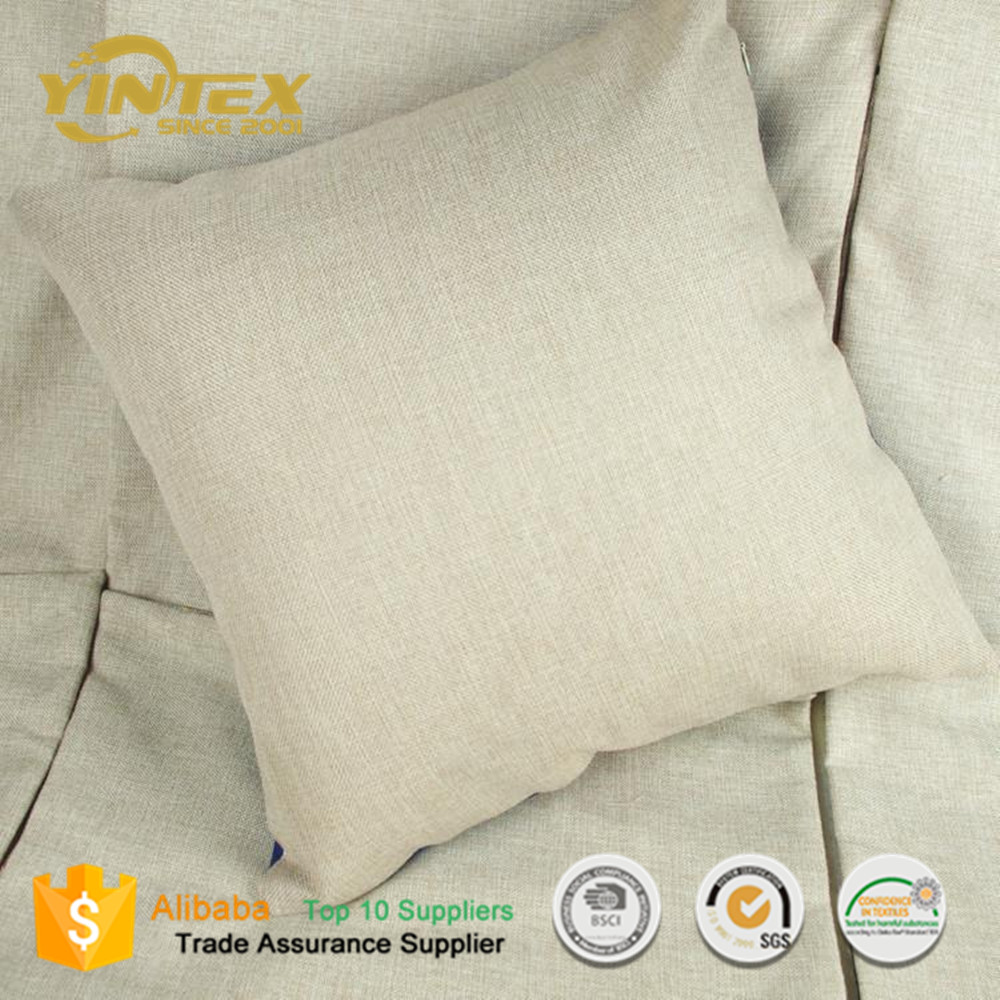 China Supplier Wholesale Plain Linen Pillow Covers