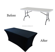 6' ft Spandex Fitted Stretch Table cloth/wedding Table Cover