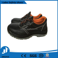 Wholesale Top Quality black leather administrative women safety working shoes