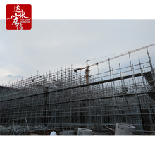 Patent ringlock scaffolding for high-rise building