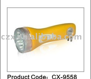 plastic flashlight