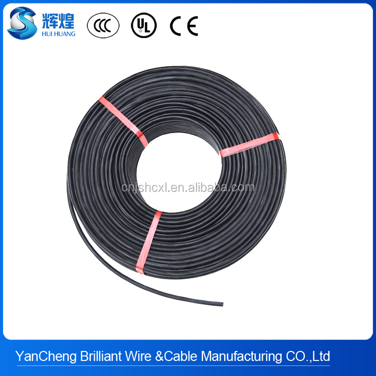 Low Price 1.5mm2 silicone rubber heat resistant wires and cables with fiber glass braid