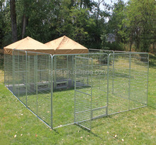 Large outdoor modular dog kennels iron dog fence panel dog backyard kennels
