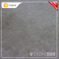 China Wholesale Custom Light Grey Limestone Imitate Stone Ceramic Tile Porcelain
