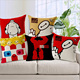 Elegant luxury home textil big hero cushion cover
