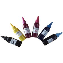 100ml Pigment Ink Six Color Universal Refill Bulk Ink For Epson Desktop Printer