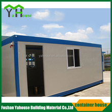 Strong and stable sandwich panel prefabricated container house for labor living