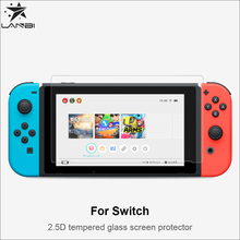 Lanbi 9H high Transparent Explosion Proof tempered glass screen protector for Nintendo Switch Game 7inch protector