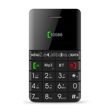 online shopping india 5.5mm Ultra Thin AEKU Qmart Q5 AEKU Qmart Q5 Card Mobile Phone Mobile Phone with 0.96 inch QWERTY Keyboard
