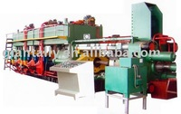 Aluminium production line for Aluminium extrusion press