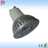 China CE ROHS GU10 led spotlight dimmable XTE LED 3X2W 2700K warm white Diameter 50mm wholesale 4.5W gu10 DB11001