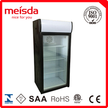 130L Used Convenience Store Equipment Display Fridge Refrigerator