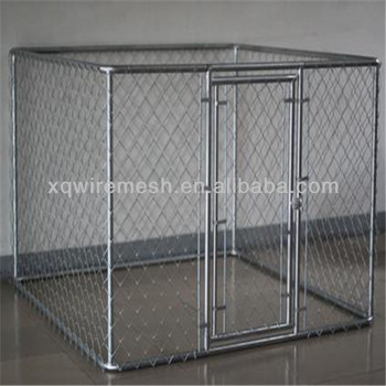 Large metal cheap chain link dog kennels