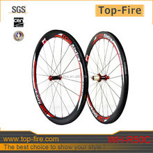 50mm depth clincher carbon wheels for 700C road carbon bike Road bicycle disc brake bike wheel sets