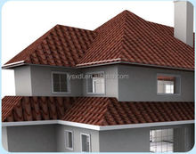 Roof Material Certificate shingle mixed color stone coated steel roof tile/Aluminium Zinc Sheet/Tile Roof asphalt shingles