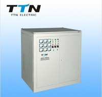 SBW-F 50KVA Compensated / Independent Type Three Phase Servo Motor Control AC Automatic Voltage Regulator / Voltage Stabilizer