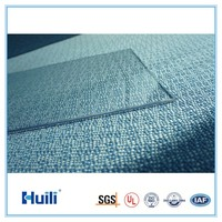 Huili Polycarbonate Sheets Solid Flat PC Panels 3mm 1220*2440mm 2050*3050mm Anti-UV Coating