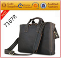 Free shipping guangzhou cheap new design crazy horse leather turkish men bags