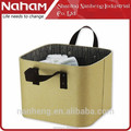 Naham hot selling quadrate washcloth storage tote basket