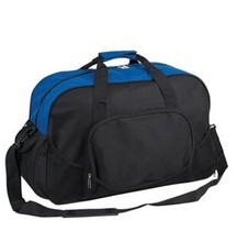promotional nylon cheap travel bag with shoe pouch