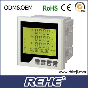 Fire Monitor REHE Meter All-parameter Measuring three phase digital Multimeter RH-3LD3Y