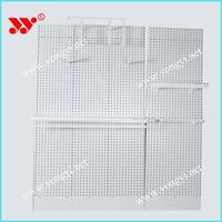 china wholesale exhibition board display rack/wood wall shelf