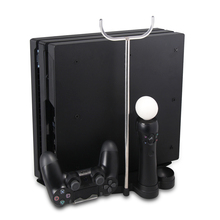 for PS4 VR Headset Stand and Controller Charge Station