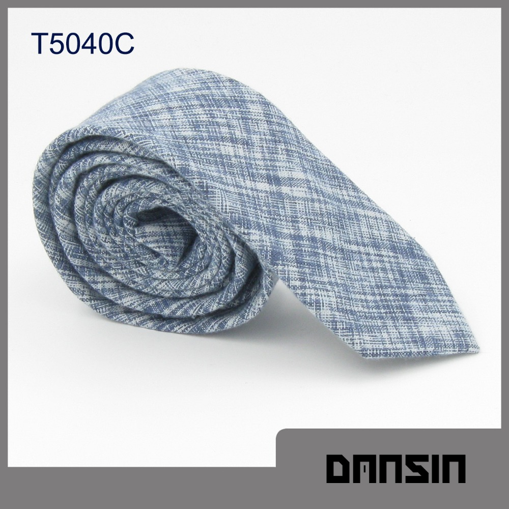 High Quality New Arrival Cotton Mens Organza Tie