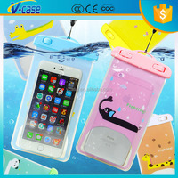 2015 fashion style animal custom waterproof cell phone case for iPhone
