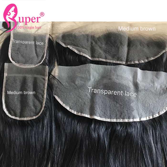 Cuticle Aligned Raw Virgin Transparent Lace Frontal 13x4 And Hair Bundles Weft Brazilian Human Extensions