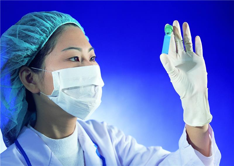 Wholesale hospital disposable examination nitrile gloves