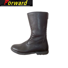 Fashion Cheap High Quality Leather Women Boots And Winter Motorcycle Shoes