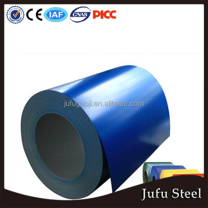 The Prepainted Gi Steel Coil / Ppgi / Ppgl Color Coated Galvanized Steel Sheet Roll In Coil From China Shanghai