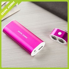 Manufacturer Power Bank,Li-ion Mobile Backup Powers,Mobile Battery Portable External Battery Charger Power Pack 5200mAh.