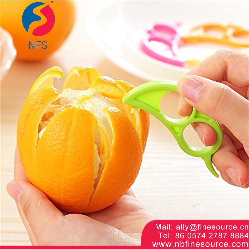 Hot Selling Kitchen Tools Orange Peeler Manual Magic Orange Peeler