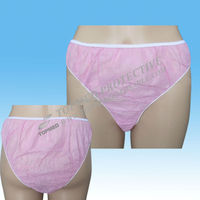 Biodegradable Disposable Paper Panties/briefs,Soft And Sanitary